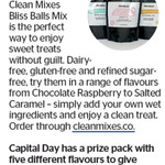 Win a Clean Mixes Bliss Balls Mix Prize Pack from The Dominion Post