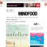 Win 1 of 8 copies of Unfollow by Megan Phelps-Roper from Mindfood