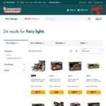 LED Solar Fairy Lights (1200 Pack) $15 @ Bunnings