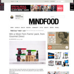 Win 1 of 3 Gourmet Direct Silver Fern Farms' Packs (Worth $89.95) from Mindfood