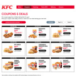 Gimme5 Meal: 5 Pieces Secret Recipe Chicken and Regular Chips for $9.99 at KFC