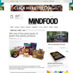 Win 1 of 2 Gluten-Free Pantry Products from Mindfood