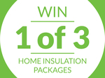 Win 1 of 3 Home Insulation Packages