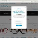 Glasses for $24.50 & 50% off on Other Frames + Free Shipping @ Clearly
