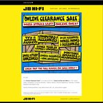 JB Hi-Fi Online Clearance Sale / Sony HDRAS20 $149.99 (Save $200 off RRP) / Leappad Game $1 / Logitech X100 Speaker $32 & More