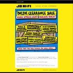 JB Hi-Fi Online Clearance Sale / Sony HDRAS20 $149.99 (Save $200 off RRP) / Leappad Game $1 / Logitech X100 Speaker $32 & More