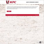 FREE Reg Chips and Reg Drink (Worth $5.20) with $5 Spend @ KFC (Receipt/Survey Required)