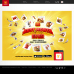 Large Sundae $3 (21/11), Big Mac Small Combo & Cheeseburger $8 (22/11), Large Fries $2 (23/11) + More Deals @ McDonald's Via App