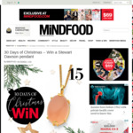 Win a Stewart Dawson Pendant (Worth $269) from Mindfood