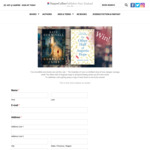 Win Two Books from HarperCollins