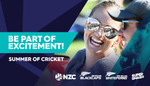 30% off Adult Black Caps Tickets for Games Played in NZ at Ticketek