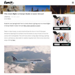 Win Return Flights for Two to Europe from Remix Magazine