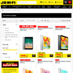 Cost + GST on Apple Products at JB Hi-Fi (Price Match with Noel Leeming)