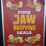 1pc Chicken, 2pc Wings, Small Fries, Small Drink, HBB $6.50 and more @ Texas Chicken
