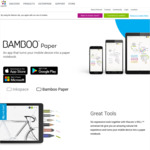 [iOS, Android, Windows 10] Free 'Pro' Features Upgrade for Bamboo Paper (Sketching / Note Taking App) via Wacom