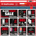 """Heathcotes Black Friday Sale - 50% off Belkin, $119 Kindle Touch 2020 8GB WiFi, $219 Galaxy Tab A 8"""", and more"""