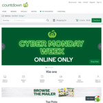 $30 off Your First Order over $100 @ Countdown