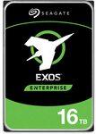 Seagate 16TB HDD Exos X16 7200 RPM 512e/4kn SATA 6GB/s 256MB Cache 3.5-Inch Enterprise Hard Drive ~ A$585 Delivered @ Amazon AU
