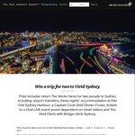 Win Return Flights for 2 to Sydney, 3nts Hotel, Bridgeclimb, Cruise from Air NZ