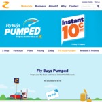 10c off Per Litre on Fuel @ Z (with Flybuys) / 8c Using Z App