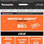 Torpedo 7 Warehouse Clearance - up to 93% off. Online Only
