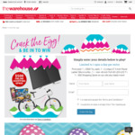 The Warehouse Crack The Egg and Win ($5 off $50 Spend, $10 off $100 Spend, Free Shipping Plus Prizes etc)