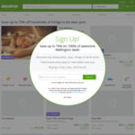 5% to 20% off Food & Drink Deals at Groupon (Mystery Discount)