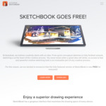 Autodesk Sketchbook Free (Was ~$131 NZD/Year) for All Platforms