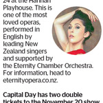 Win 2 Tickets to Puccini's Masterpiece Madam Butterfly from The Dominion Post (Wellington)
