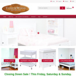TOUCHWOOD NZ (Kids Furniture) Closing down Sale Tawa Wellington in Store