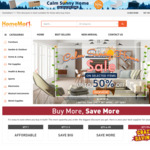 Up to 50% off Calm Sunny Home Sale (e.g. TOUGHOUT Thunderstorm Gazebo 3x6m for $349.99) @ Homemart