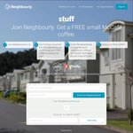 FREE McCafe Coffee for Signing up to Neighbourly - Goody Card & Fairfax