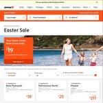 Jetstar Easter Sale: Rarotonga from Auckland $129 O/W ($330 Return), Wellington $158 O/W ($388 RT) + More