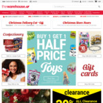 The Warehouse Group - Shareholder Shopping Days E.g. Extra 20% off The Warehouse