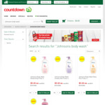 $5 1L Johnsons Body Wash/Shower Gel @ Countdown