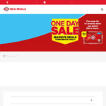 One Day Sale @ New World