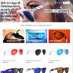 40 Days till Christmas One Day Sale. 40% off Blenders Eyewear