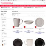 4 for $3 - Living & Co Textured Loose Dinnerware @ The Warehouse