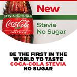 Free Coca-Cola Stevia No Sugar Sample with Purchase at St Pierre's or Zambrero