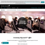 Book 2 Economy Seats to Select Destinations and Get Economy Skycouch for Only $1 @ Air New Zealand