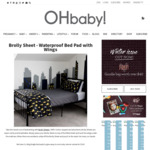 Win 1 of 2 Brolly Sheets King Single Bed Pads from Oh Baby!