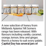 Win 1 of 7 Jars of Midlands Apiaries' Mt Somers Honey from The Dominion Post