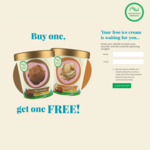 Buy 1 480ml NZ Natural Ice Cream Tub, Get 1 480ml Free @ Participating Supermarkets (Coupon)
