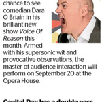 Win a Double Pass to Voice of Reason from The Dominion Post (Wellington)