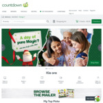 $20 off $100 on Your First Shop at Countdown