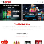 Cheapies Exclusive: 16% off at Topdog Nutrition