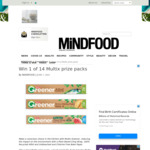 Win 1 of 14 Multix Prize Packs from Mindfood