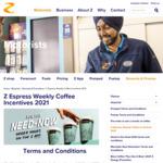 Free Coffee Upsize (July 5-11), Flavour Shot (July 12-18), Alternative Milk (July 19-25), Mini Bite (July 26 - Aug 1) @ Z Energy