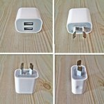 2 Port USB Wall Charger (White) AU$7.50 (~ $8 NZ) with FREE Shipping @ Chajju.com