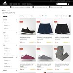 Adidas Outlet up to 50% off (Blue Suede Shoes were $140 now $70, shirts $17, shorts $22, etc)